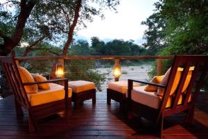 Rhino Post Bush Suite Viewing Deck