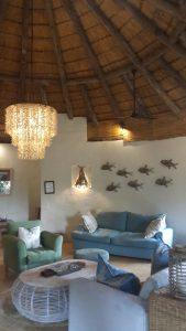 Open lounge at Thonga Beach Lodge