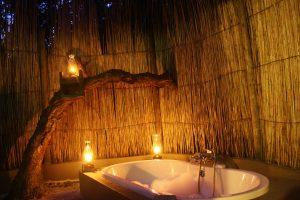 Bathing at night by candlelight at Kosi Bay is an unforgettable experience
