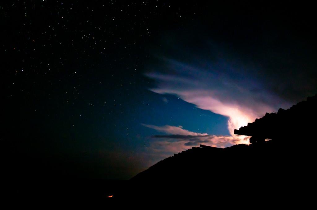 Thonga storm - photograph by Carol Moller