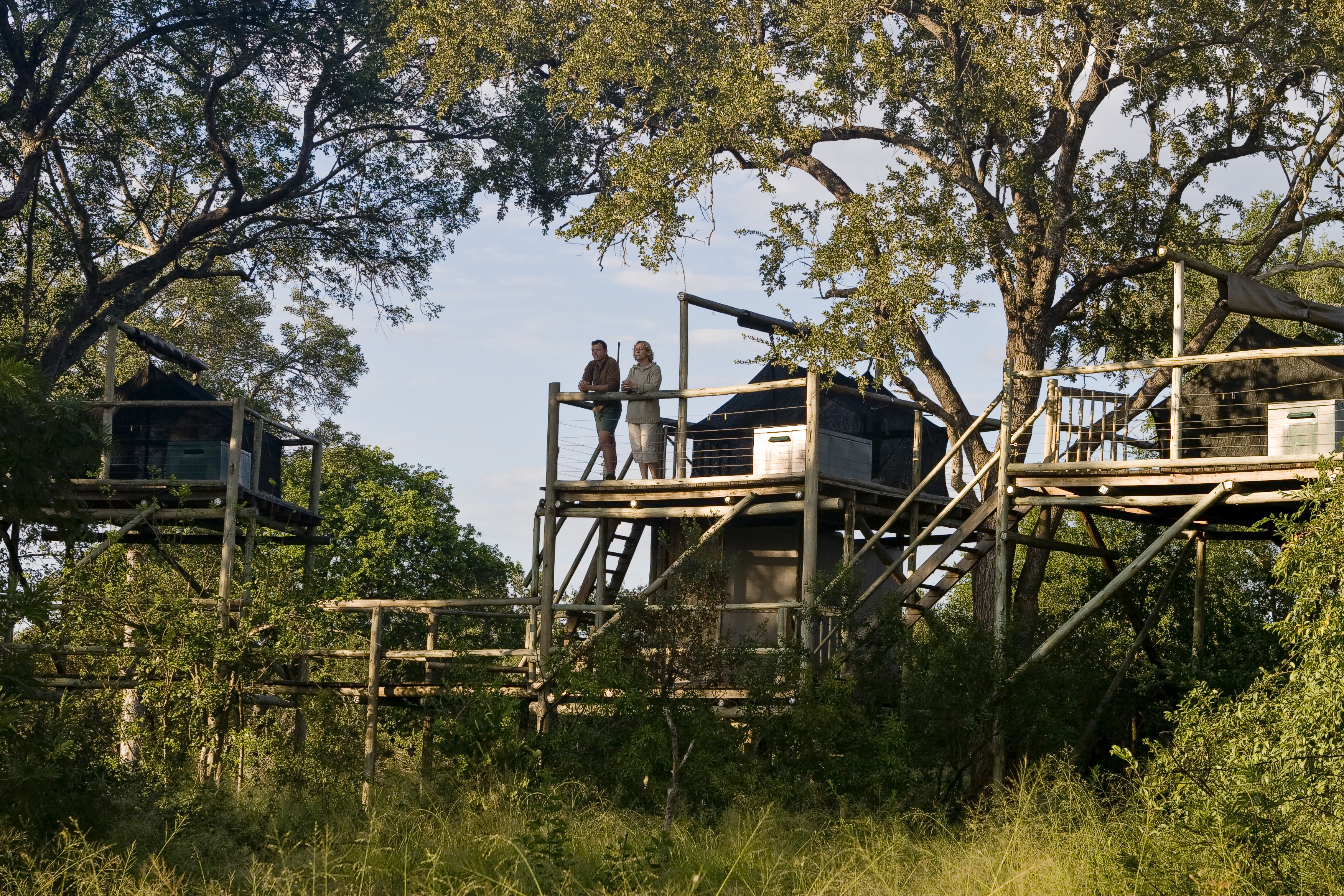 Nikki also manages Plains Tented Camp and Rhino Walking Safaris. She loves to retreat on these sleepout decks to reconnect with nature.