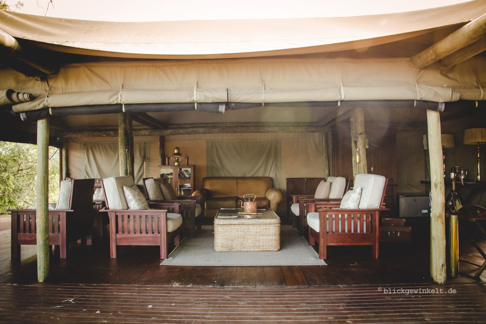 Plains Tented Camp - could be a film set