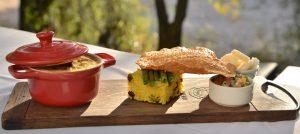 Traditional African cuisine at Rhino Post Safari Lodge