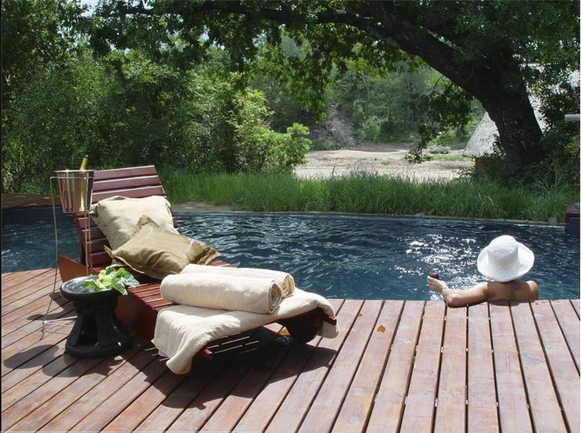 The Isibindi Africa Lodges all have spectacular pools with views
