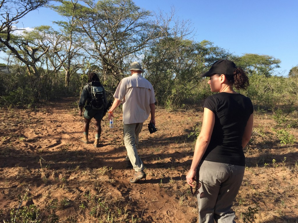 Every sense is heightened on a walking trail in the African wilderness
