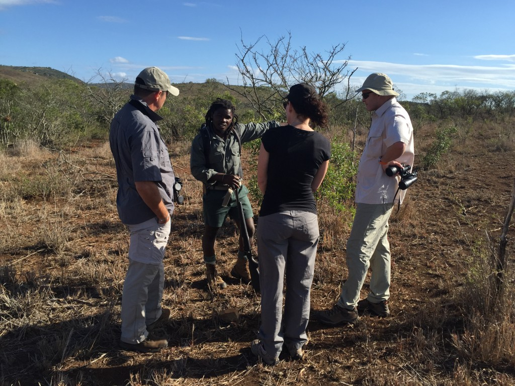 A guided walk is an enjoyable experience and you will soon find yourself trusting this experienced guide
