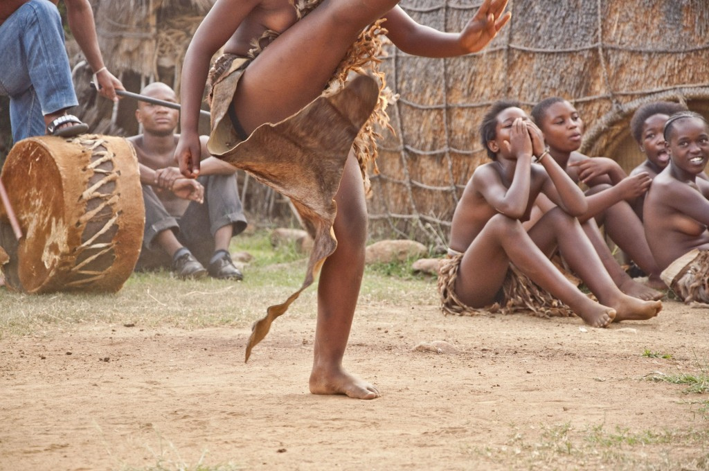 Traditional Zulu dance is a difficult and revered skill