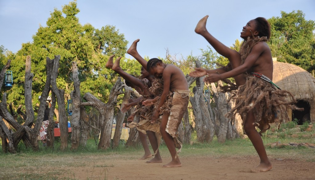 Let the energy of these Zulu dancing girls fill you with gratitude