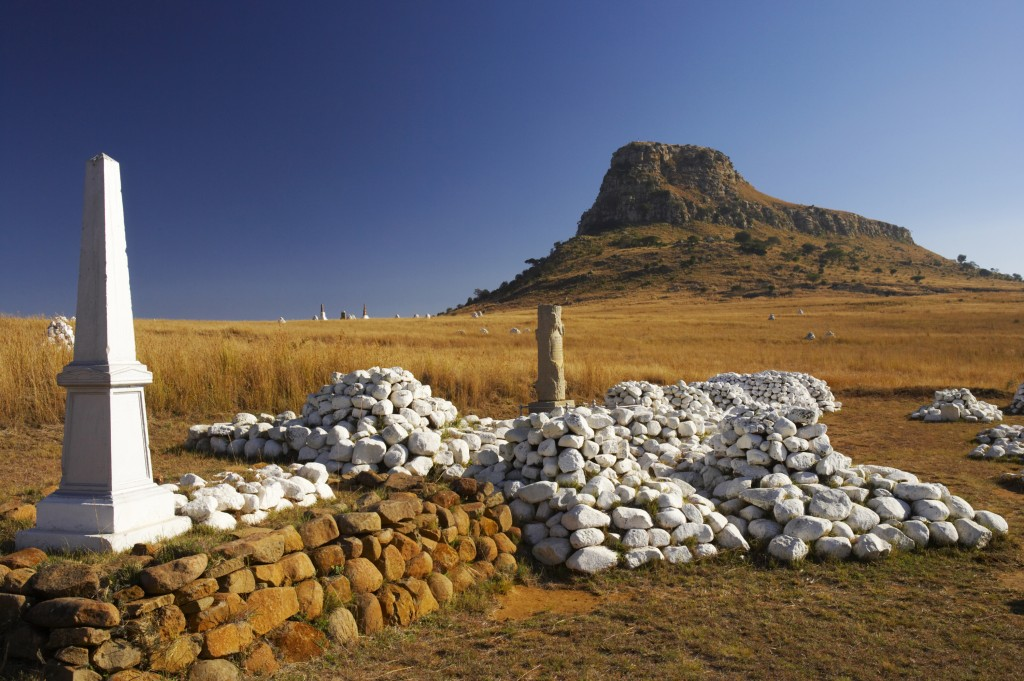 The chilling scene of Isandlwana battlefield