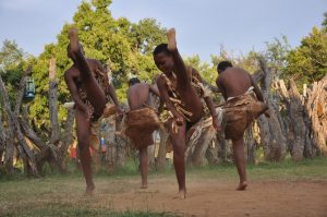 Traditional Zulu dancing is still a much revered form of art