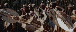 Zulu warriors were feared opponents in war