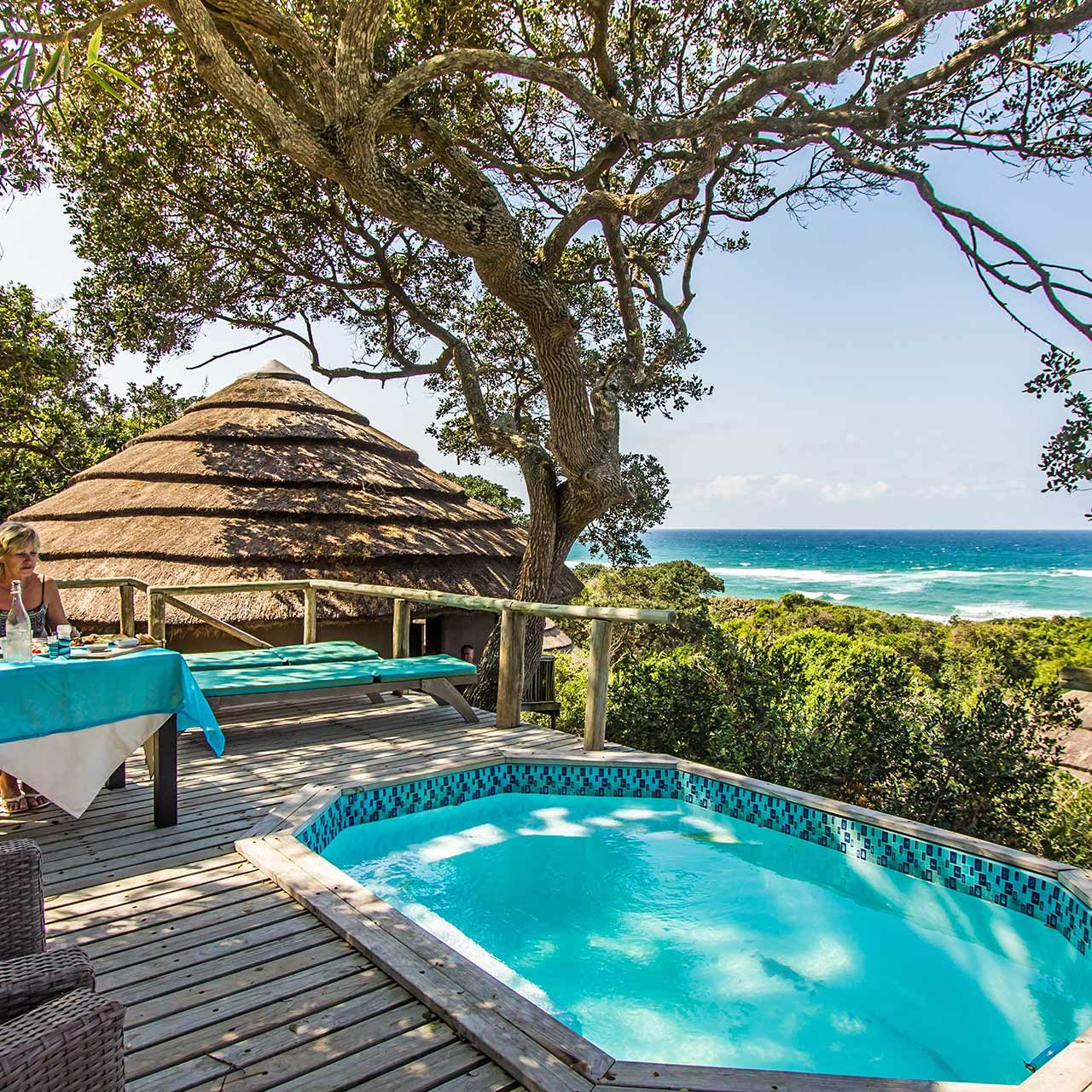 Thonga Beach Lodge, Isimangaliso. Southern Africa Safari Lodges Holiday Specials and Packages